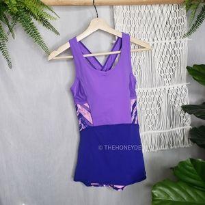 Ivivva Girl's Purple Active Top Size 14 Lululemon